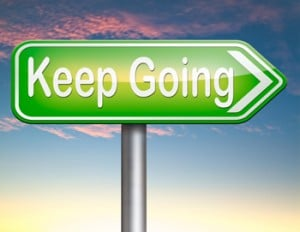 Keep going in Forex.